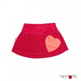 ManyMonths Woollies Heart Pocket Skirt UNiQUE - Cranberry Nectar