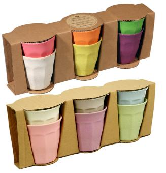 Zuperzozial Cupful of Color, Trinbecher 6er-Set