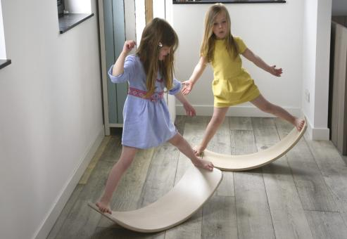 WOBBEL Board Original, tranparent lackiert
