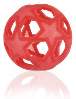 HEVEA Star Ball, 100% Naturkautschuk - Raspberry Red