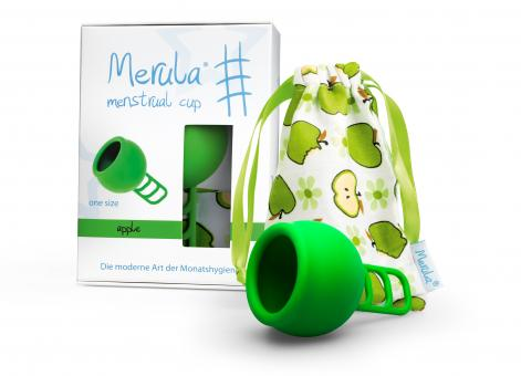 Merula Cup Menstruationstasse - apple