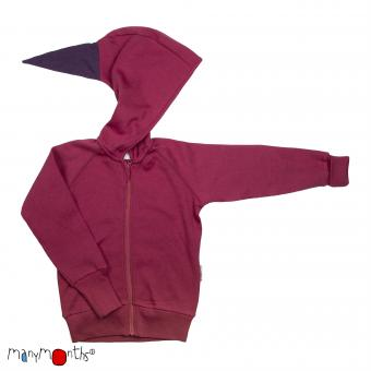 ManyMonths Kapuzenjacke (Hooded Zip Cardigan) - Frosted Berry