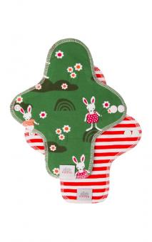 Ella's House Moon Pads MIDI, Stoffbinde 2er - Rabbits LIMITED EDITION