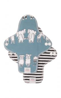 Ella's House Moon Pads MIDI, Stoffbinde 2er - Zoo Friends LIMITED EDITION