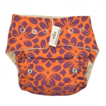 Windelzauberland Wollsnap, Wollüberhose, kbT, REGULAR - Blossom orange/violett